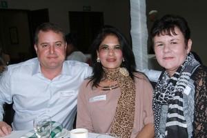 Frank Reardon, Venilla Basdev & Sonja Theron (Broll Property Group).
