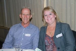 Grant Walker (Keal Property) & Pauline Locke (Dormehl Property Group).