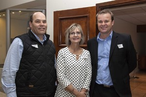 Nicolaas Roelf Nell (Home ETC Store) and Jacques Wessels (Investec).