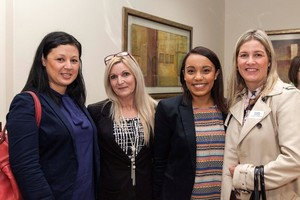 Ondine Paulson (Acucap Investments), Sheryl Allan, Deveda Bloem and Claire Liston (Growthpoint Properties).