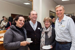 Ana Capelinha (Broll Property), Rael Abramowits (Acucap Investments), Kathy Hale (Broll Property) and Marios van Dongen.