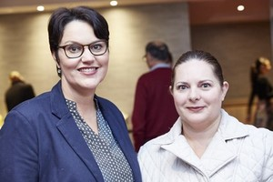 Mazel Matthews (Broll Property Group) and Ingrid Milne (Tyger Valley Shopping Centre).