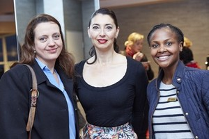 Salome Thonnard (Hyprop Investments Limited), Jewel Harris (Growthpoint Properties) and Amanda Dilima (V&A Waterfront Holdings).