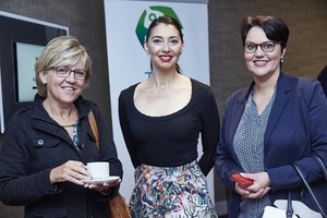Anne Voorneveld (Abreal), Jewel Harris (Growthpoint Properties) and Mazel Matthews (Broll Property Group).