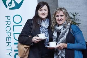 Lindsay Morris and Kim Neumann (Broll Property Group).