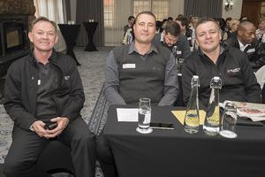 Glen Evert, Ian Labuschagne, Renzo Derksen (Quatro Security Services)