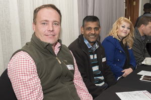 Melissa Botha, Anil Ramcharan, Walter Nel (JHI Retail)