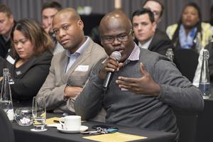 William Meela, Moses Ntsie, Loren kramer (McDonalds SA)