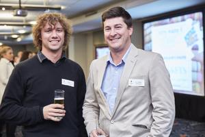 Willem Visser (Farrow Laing), Luan Van Niekerk (MDSA Project Management)