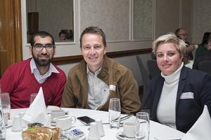 Firoz Laher (Larsons) Hein Malan, Christel Joubert (PEC Utility Management)