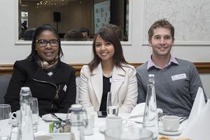 Sharon makhubela, Avitha Ramdayal (Nedbank) Jaco Reyneke (Reteam SA)