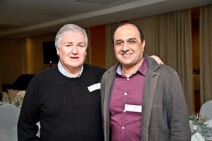 Jeff Zidel (SACSC President / Fortress Income Fund) & Ahmed Saeed Paruk (Greybond Properties)