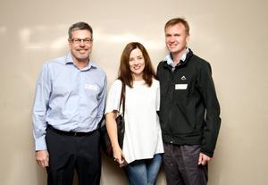 Ken Dawson, Lea Hollinshead & Dave Fly (Nedbank)