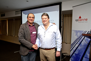 Ahmed Saeed Park (Greybond Properties) & Gavin Tagg (Retail Network Services)