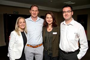 Lezanne Burger, Mike van Schoor, Angela Efendakis, Jared Stander (Strategic Real Estate Managers)