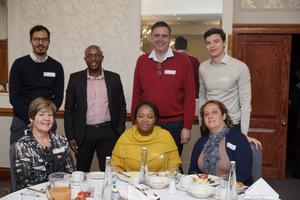 (Standing)Omar Khan, , Itumeleng Mothibeli, Johann Pretorius, Dean Steinberg, (Seated)Ina lopion (Vukile Property fund) Khosi Zwane, Ana Capelinha (Akani Properties)