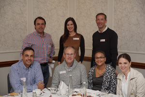 (Seated)Andre Rosslee, (ABSA)Johann Early, Rozanne Hartze, Barbara Perry, (Hyprop Investments)Chris Porter,  Alanie Goussard, Neil Yates, (Mr Price Group)
