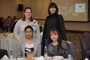 (Seated) Nirosh Moodley, Chantell Roemer   (Growthpoint Management Services)(Standing) Leanie van Brummen, Stacey Leader, (Paragon Architects)