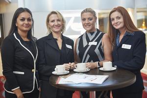 Angelique Roberts, Yolande Visser, Xanthe Havenga, Wendy Mostert (Bidvest Prestige)