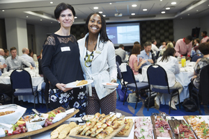 Renee English,(Growthpoint Properties) Amanda Dilima (V & A Waterfront)
