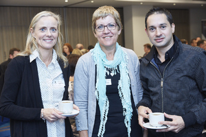 Genie Scholl,(Excellerate Real Estate) Anne Voorneveld,(Rabie Property Administrators) Yaqub Omar (Excellerate Real Estate)