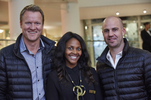 Lyle Wikens (Spar WC) Amanda Dilima (V & A Waterfront) Mathew Olsen (Spar WC)