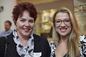 Madeleine  v d  Berg ( Rabie Property administrators) Lisa de Boer(Growthpoint )