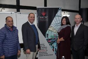 Johan La Grange(DSB), Devilliers Botha(Solareff), Laetitia Zillen(redefine Properties), Bertie Lourens (Waste Plan)