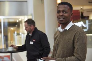 Stuart Wragg (Securitas) Noko Sekgobela(Growthpoint Management Services)