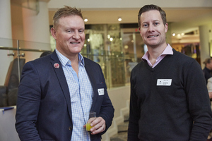 Colin Young (Urban Growth) Adrian Read (Growthpoint Management services)