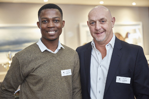 Noko Sekgobela, David Stoll (Growthpoint Management Services)