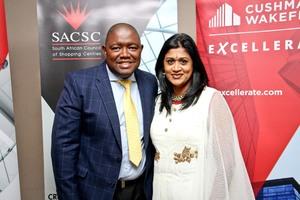 Siphiwe Moyo & Pria Bhagwandin (Cushman & Wakefield Excellerate)