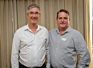 Trevor Richardson (Local finance & Investment Corp) & Frank Reardon (Broll Property Group)