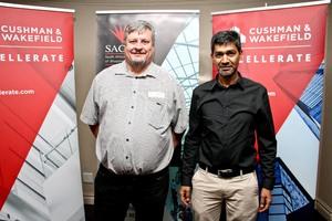 Chris Wheeler (Interpark) & Omar Khan (Broll Property Group)