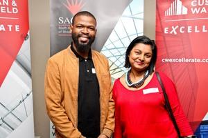 Sbu Mhkize (The Pavilion) & Anna Nirmal (Retailability)