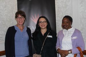 Claire Boaventura (Broll) Luciana Popa (Melrose Arch)  FionaSabeta (Retail Network services)