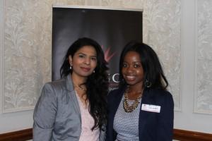 Kathija Mahomed (Primedia Lifestyle) Bafedile Sakunela (FNB Comercial Property Finance)
