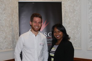 Ricky Musiker (Musiker & Associates) Janice Coopoosamy (Fourways Crossing)