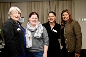 Beverley -Ann Fink (Highpoint Trading) Leigh-Anne Bailey, Lauren Randall, Sue Jagesur (Broll Property)