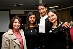Ayesha Sewbaran, Shevani Maharaj, Lisanne Lazarus, Avisha Singh (Primedia Lifestyle)