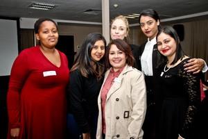 Nqobile Cele, Shevani Maharaj, Tarryn Brassel, Ayesha Sewbaran, Lisanne Lazarus, Avisha Singh (Primedia Lifestyle)