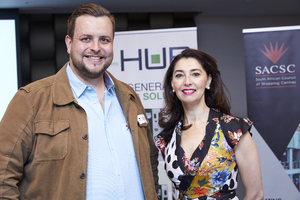 Anton Neveling (Hub Parking Technology), Jewel Harris (Growthpoint Properties)