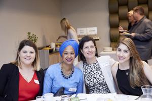 Carla Vice, Rafeeqah Larney (Primedia Unlimited), Tirzah Myers (Broll), Ashleigh Meyers (Ryan Joffe Properties)