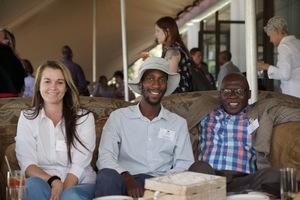 Janine van Aswegen (Redefine) Musa Ndlovu( OH Multi  Group) Vuyo Zita (Ethandwayo)