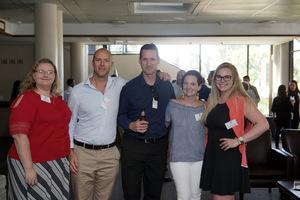 Joanne Johnson , Jonathan Shutte, Jason Nel (Flanagan & Gerard) Nathali de lange, Michelle van Greunen (Macdonald & Company)
