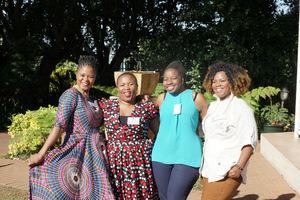 Penny Matsinhe (JHI) Amanda Marubungwana (Standard Bank) Fiona Sabeta (Retail Network Services) Thenji Makhaya (Standard Bank)