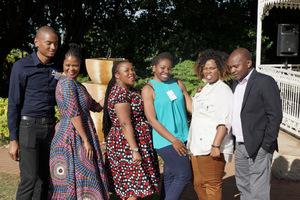 Noko Makatelele (Abreal) Penny Matsinhe (JHI) Amanda Marubungwana (Standard bank) Fiona Sabeta (Retail Network Services) Thenji Makhaya (Standard Bank)Moses Ruvive (Nedbank)