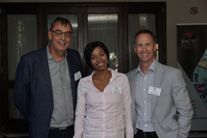 Willem Strydom (Remote Metering Solutions) Naledi Ndlovu (Eben Industries) Brian Unsted (Liberty 2 Degrees)