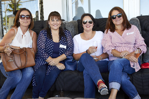 Julie van Zyl, Anneline Niemand (Rabie Property Administrators), Mazel Matthews (Growthpoint Properties), Lorraine Snyman (Redefine)