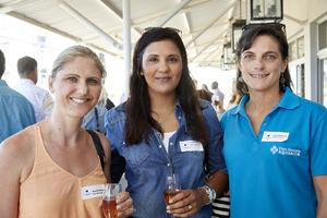 Hanlie Rennie, Chandre Meyer (V & A Waterfront), Hayley Mclellan (Two Oceans Aquarium)